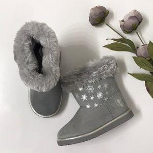 Disney Frozen Short Boot with Faux Fur